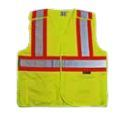 PROFERRED YELLOW REFLECTIVE SAFETY VEST (M) 6 PACK